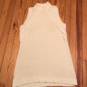 Madewell cotton sweater dress sleeveless